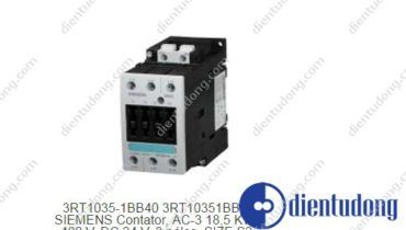 3RT1035-1BB40 CONTACTOR