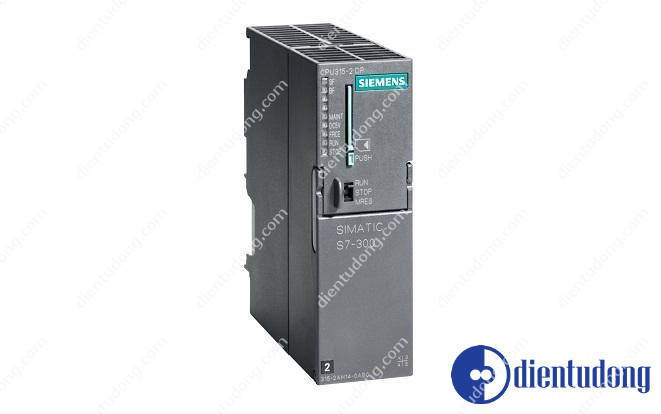 SIMATIC S7-300, CPU 315-2DP CPU WITH MPI INTERFACE INTEGRATED 24 V DC POWER SUPPLY 256 KBYTE WORKING MEMORY 2. INTERFACE DP- MASTER/SLAVE MICRO MEMORY CARD NECESSARY