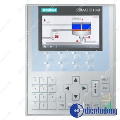 SIMATIC HMI KP400 COMFORT, COMFORT PANEL, KEY OPERATION, 4