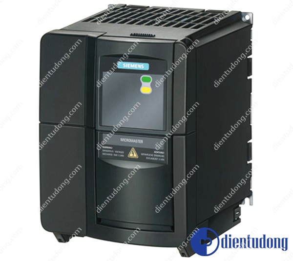 MICROMASTER 440 WITH BUILT-IN CLASS A FILTER 3AC 380-480 V +10/-10% 47- 63 HZ CONSTANT TORQUE POWER 4 KW OVERLOAD 150% 60 S, 200% 3 S SQUARED TORQUE POWER 4 KW 202 X 149 X 172 (H X W X D)