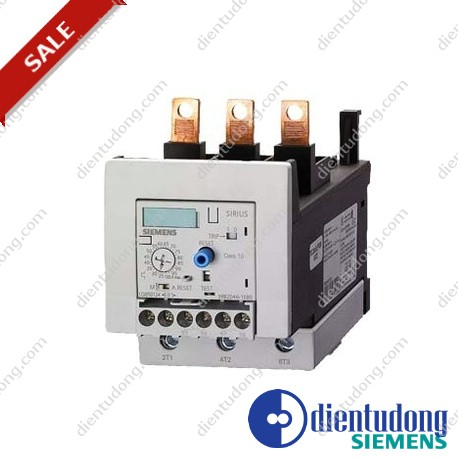 OVERLOAD RELAY 25...100 A FOR MOTOR PROTECTION SIZE S3, CLASS 20 FOR MOUNTING ONTO CONT. MAIN CIRCUIT: SCREW CONNECTION AUX. CIRCUIT: SCREW CONNECTION