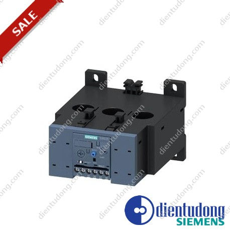 OVERLOAD RELAY 50...200 A FOR MOTOR PROTECTION SIZE S6, CLASS 10 MOUNT. ONTO CONT./ STAND-ALONE MAIN CIRCUIT: THROUGH TRANSF. AUX. CIRCUIT: SCREW CONNECTION
