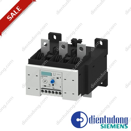 OVERLOAD RELAY 50...200 A FOR MOTOR PROTECTION SIZE S6, CLASS 20 MOUNT. ONTO CONT./ STAND-ALONE MAIN CIRCUIT: BAR CONNECTION AUX. CIRCUIT: SCREW CONNECTION