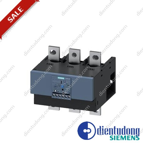 OVERLOAD RELAY 160...630 A FOR MOTOR PROTECTION SIZE S10/S12, CLASS 10 MOUNT. ONTO CONT./ STAND-ALONE MAIN CIRCUIT: BAR CONNECTION AUX. CIRCUIT: SCREW CONNECTION