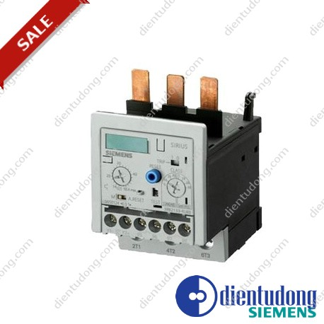 OVERLOAD RELAY 6...25 A FOR MOTOR PROTECTION SIZE S2, CLASS 5...30 STAND-ALONE INSTALLATION MAIN CIRCUIT: THROUGH TRANSF. AUX. CIRCUIT: SCREW CONNECTION