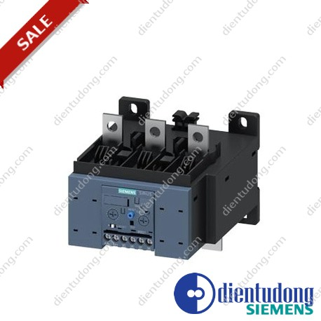 OVERLOAD RELAY 55...250 A FOR MOTOR PROTECTION SIZE S10/S12, CLASS 5...30 MOUNT. ONTO CONT./ STAND-ALONE MAIN CIRCUIT: BAR CONNECTION AUX. CIRCUIT: SCREW CONNECTION