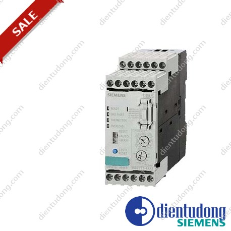 PROCESSING UNIT FOR FULL MOTOR PROTECTION SIZE S00...S12, CLASS 5...30 STAND-ALONE INSTALLATION MAIN CIRCUIT: -- AUX. CIRCUIT: SCREW CONNECTION
