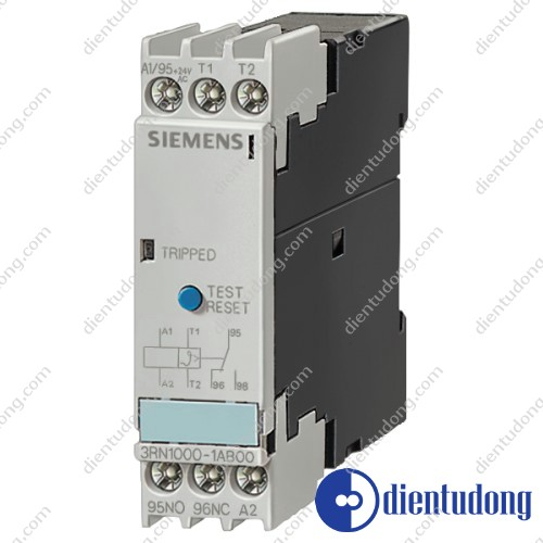 THERMISTOR MOTOR PROTECTION STANDARD EVALUATION UNIT AUTO, 1NO+1NC, UC 24...240V SCREW CONNECTION