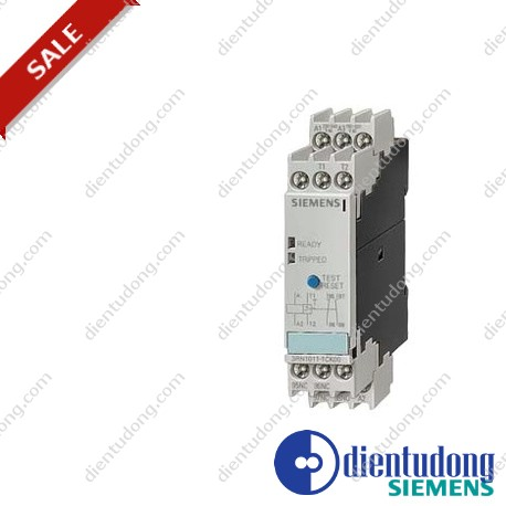 THERMISTOR MOTOR PROTECTION STANDARD EVALUATION UNIT MANUAL, 1NO+1NC, AC/24V SCREW CONNECTION