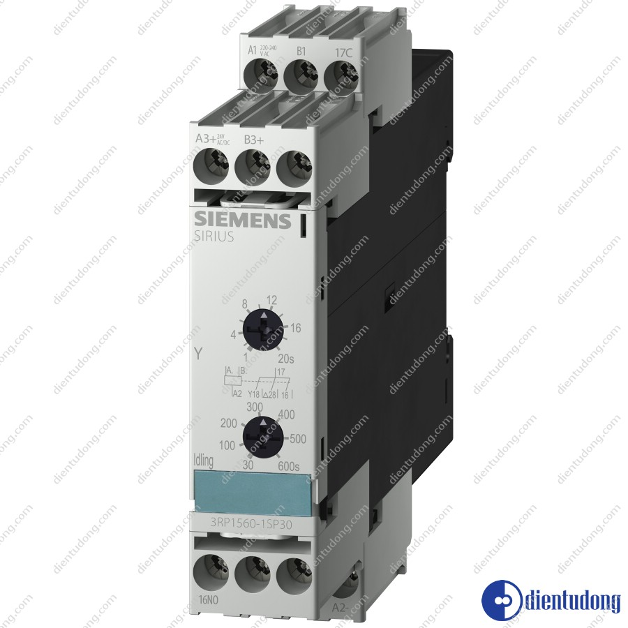 SOLID-STATE TIME RELAY !!! PHASE-OUT PRODUCT !!! FOR FURTHER INFORMATION PLEASE CONTACT OUR SALES STAFF! WITH STAR-DELTA, 1...20S, 30...600S, 0.85 ...1.1US,