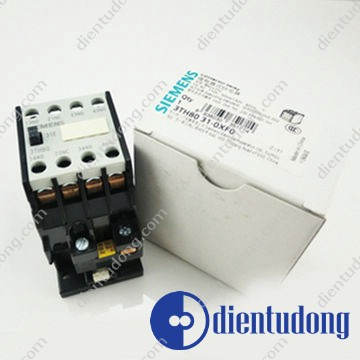 CONTACTOR RELAY 31E EN 50 011 3NO+1NC, SCREW TERMINALS AC OPERATION AC 50HZ 24V/60HZ 29V