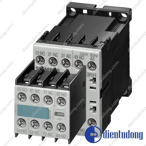 CONTACTOR RELAY 44E EN 50 011 4NO+4NC, SCREW TERMINALS AC OPERATION AC 230/220V 50HZ, 276/264V 60HZ