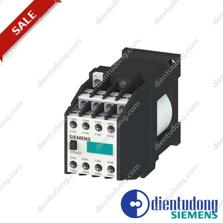 CONT. RELAY 44 E DIN EN 50011 4NO+4NC, SCREW CONNECTION DC OPERATION DC SOLENOID SYSTEM DC 90V-140V