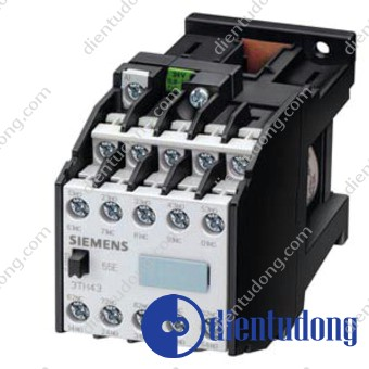 CONT. RELAY 55E DIN EN 50011 5NO+5NC, SCREW CONNECTION DC OPERATION DC SOLENOID SYSTEM DC 90V-140V
