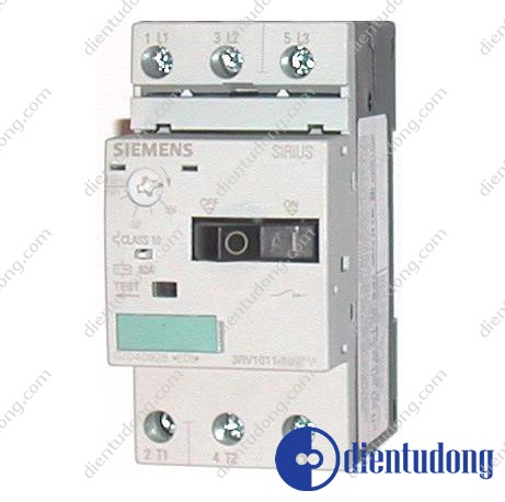 CIRCUIT-BREAKER SIZE S00, FOR MOTOR PROTECTION, CLASS 10, A REL.0.18...0.25A, N REL. 3,3A SCREW CONNECTION, STANDARD BREAKING CAPACITY , W. TRANSV. AUX. SWITCH 1NO/1NC