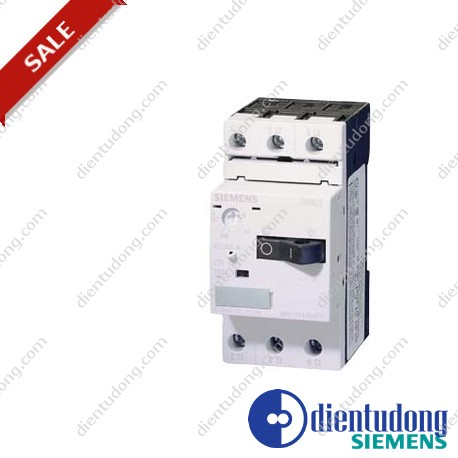 CIRCUIT-BREAKER SIZE S00, FOR MOTOR PROTECTION, CLASS 10, A-REL.2.2...3.2A, N- REL. 42A, SCREW TERMINAL, STANDARD SWITCHING CAPACITY