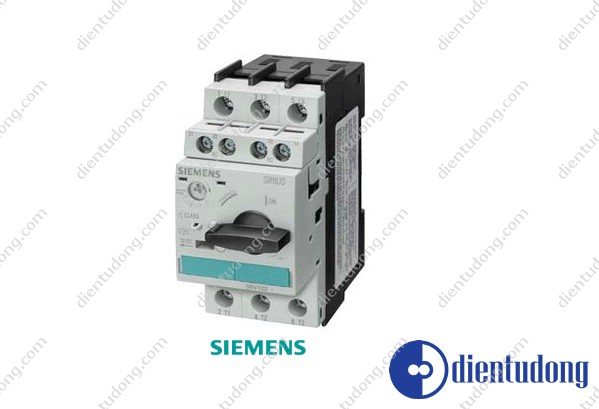 CIRCUIT-BREAKER, SIZE S0, FOR MOTOR PROTECTION, CLASS 10, A REL.0.28...0.40A, N REL.5.2A, SCREW CONNECTION, STANDARD BREAKING CAPACITY W. TRANSV. AUX. SWITCH 1NO/1NC