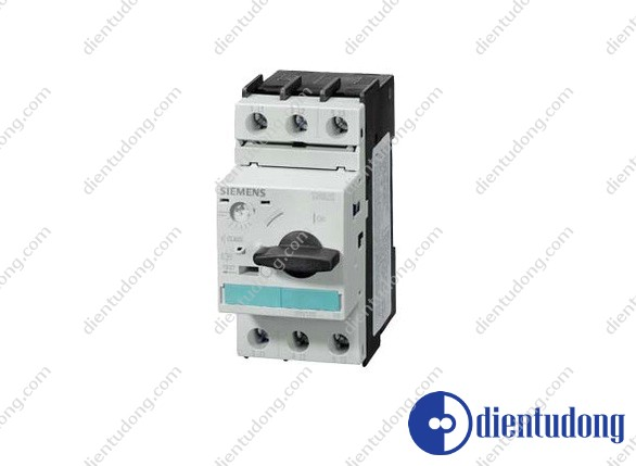 CIRCUIT-BREAKER SIZE S0, FOR MOTOR PROTECTION, CLASS 10, A-REL.4.5A...6.3A, N-REL.82A, SCREW TERMINAL, STANDARD SWITCHING CAPACITY