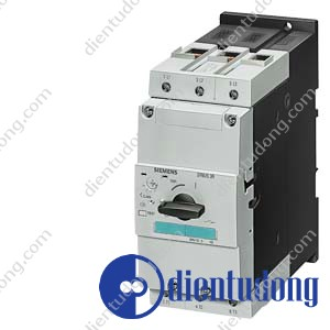 CIRCUIT-BREAKER SIZE S3, FOR MOTOR PROTECTION, CLASS 10, A-REL. 45...63A, N- REL. 819A, SCREW TERMINAL, STANDARD SWITCHING CAPACITY
