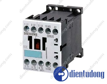CONTACTOR, AC-3 5.5 KW/400 V, 1 NO, AC 230 V, 50/60 HZ, 3-POLE, SIZE S00, SCREW CONNECTION