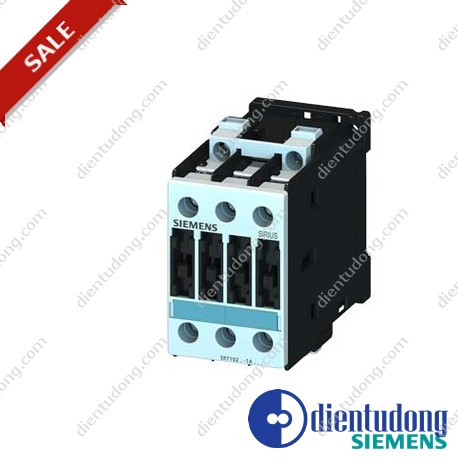 CONTACTOR, AC-3 4 KW/400 V, AC 110 V 50 HZ / 120 V 60 HZ 3-POLE, SIZE S0, SCREW CONNECTION