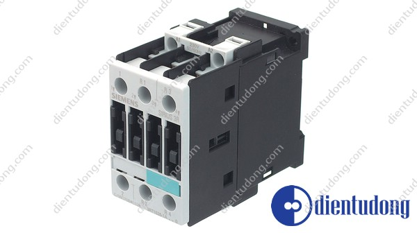 CONTACTOR, AC-3 4KW/400V, DC 24 V, 3-POLE, SIZE S0, SCREW CONNECTION