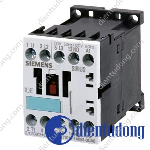 CONTACTOR, AC-3 5.5 KW/400 V, DC 24 V, 3-POLE, SIZE S0, SCREW CONNECTION