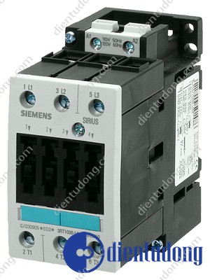 CONTACTOR, AC-3 15 KW/400 V, AC 220V 50HZ/240V 60HZ 2 NO + 2 NC 3-POLE, SIZE S2, SCREW CONNECTION