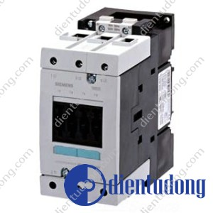 CONTACTOR, AC-3 30 KW/400 V, AC 110V 50HZ/120V 60HZ 3-POLE, SIZE S3, SCREW CONNECTION