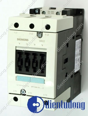 CONTACTOR, AC-3 30 KW/400 V, AC 220V 50HZ/240V 60HZ 3-POLE, SIZE S3, SCREW CONNECTION
