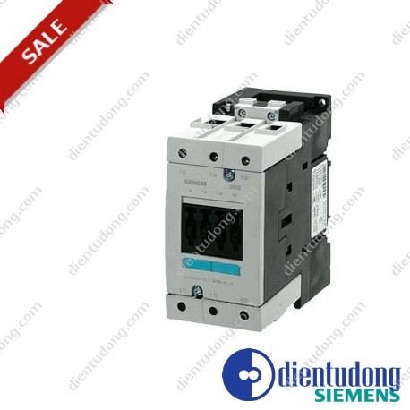 CONTACTOR, AC-3 37 KW/400 V, AC 230V 50/60HZ 3-POLE, SIZE S3, SCREW CONNECTION