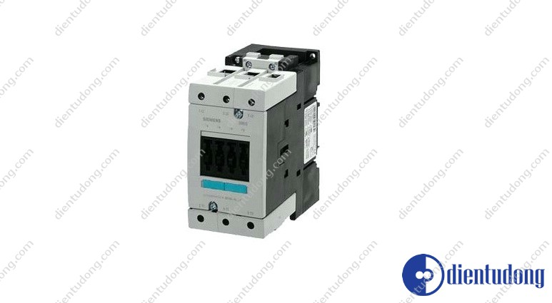 CONTACTOR, AC-3 37 KW/400 V, AC 230 V, 50 HZ, 3-POLE, SIZE S3, SCREW CONNECTION