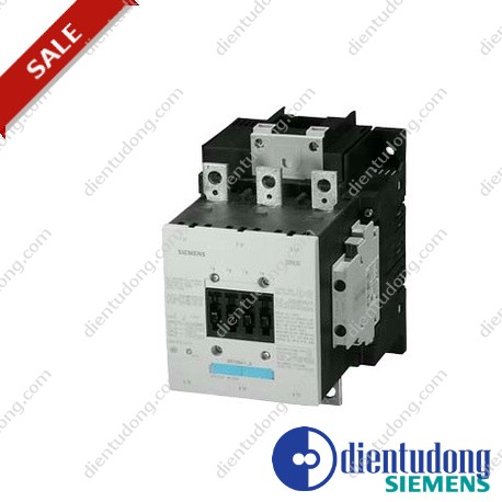 CONTACTOR, 75KW/400V/AC-3, AC(40...60HZ)/DC OPERATION UC 220...240V AUXIL. CONTACTS 2NO+2NC 3-POLE, SIZE S6 BAR CONNECTIONS CONVENTIONAL OPERATING