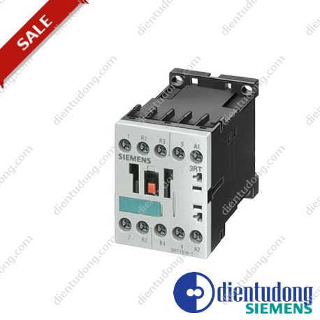 CONTACTOR, AC-3 4 KW/400 V, AC-1 18 A, CC 24 V 50/60 HZ, 4-POLE, 2 NO + 2 NC, SIZE S00, SCREW CONNECTION