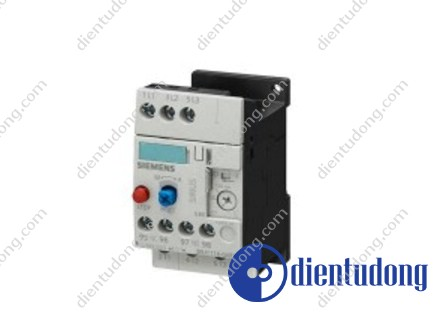 OVERLOAD RELAY, 0.45...0.63 A, 1NO+1NC, SIZE S00, CLASS 10, FOR INDIVID. MOUNTING