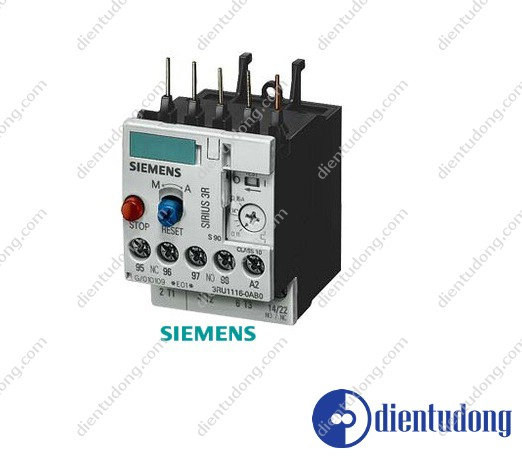 OVERLOAD RELAY, 1.1...1.6 A, 1NO+1NC, SIZE S00, CLASS 10, FOR INDIVID. MOUNTING
