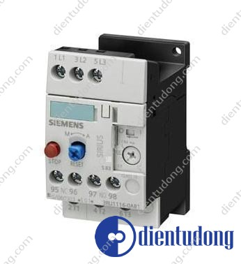 OVERLOAD RELAY, 11...16 A, 1NO+1NC, SIZE S0, CLASS 10, SCREW CONNECTION, FOR INDIVID. MOUNTING