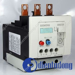 OVERLOAD RELAY, 36...50 A, 1NO+1NC, SIZE S3, CLASS 10, FOR CONTACTOR MOUNTING, AUXILIARY SWITCH: CAGE CLAMP,