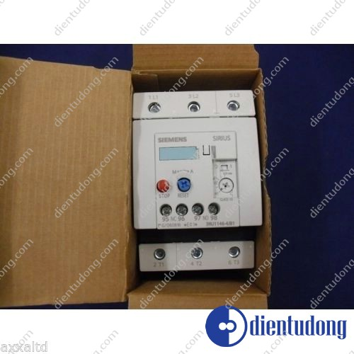 OVERLOAD RELAY 45...63 A FOR MOTOR PROTECTION SIZE S3, CLASS 10 FOR INDIVID. MOUNTING